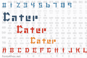 Cater Font