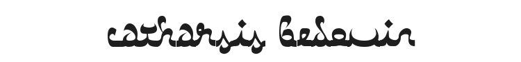 Catharsis Bedouin Font