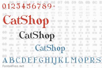 CatShop Font