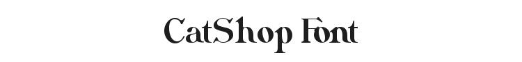 CatShop Font Preview