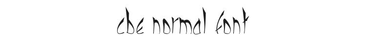 Cbe Normal