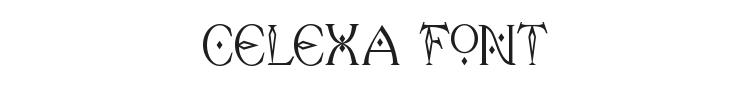 Celexa Font Preview