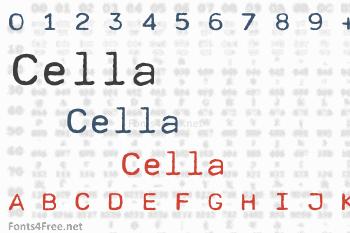 Cella Font