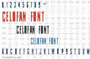 Celofan Font