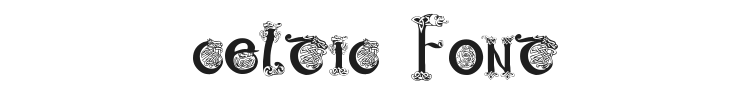 Celtic 101 Font Preview
