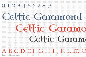 Celtic Garamond the 2nd Font