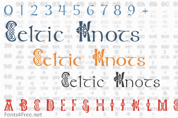 Celtic Knots Font