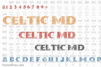 Celtic MD Font