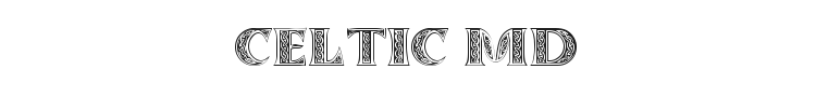 Celtic MD Font Preview