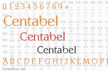 Centabel Font