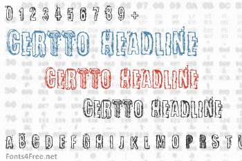 Certto Headline Font