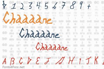 Chaaaane Font