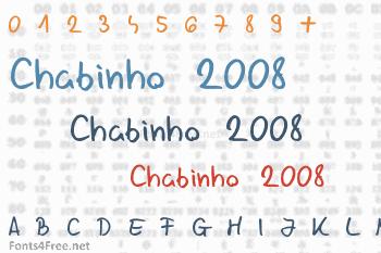 Chabinho 2008 Font