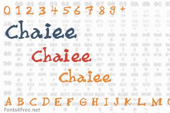 Chaiee Font