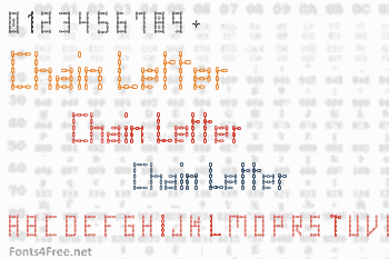 Chain Letter Font