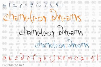 Chameleon Dreams Font