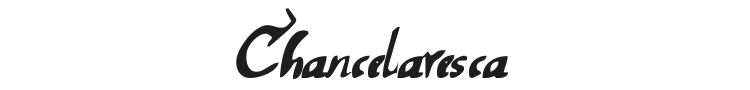Chancelaresca Font Preview