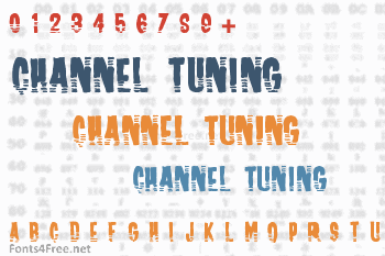 Channel Tuning Font