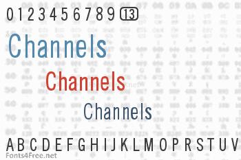 Channels Font