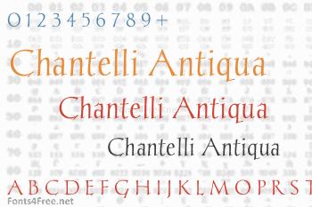 Chantelli Antiqua Font