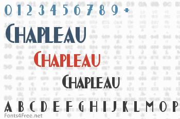Chapleau Font