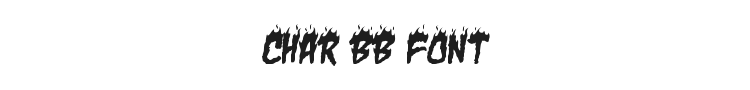 Char BB Font Preview