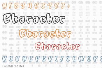 Character Font