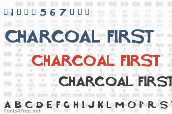 Charcoal First Font