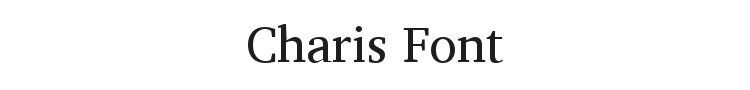 Charis Font
