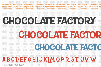 Charlie and the Chocolate Factory Font