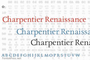 Charpentier Renaissance Pro Font