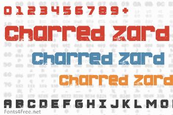 Charred Zard Font