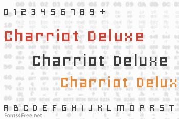 Charriot Deluxe Font