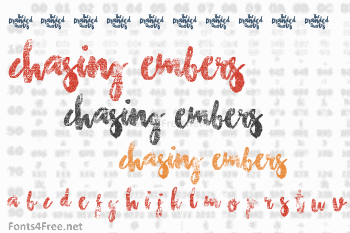 Chasing Embers Font