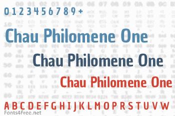 Chau Philomene One Font