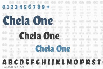 Chela One Font