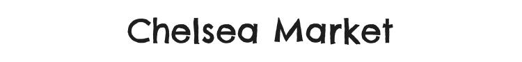 Chelsea Market Font Preview