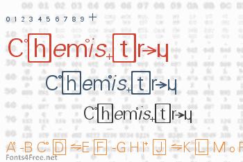 Chemistry Font