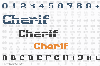 Cherif Font
