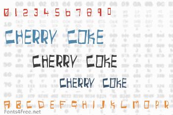 Cherry Coke Font