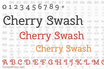 Cherry Swash Font