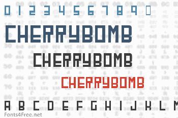 CherryBomb Font