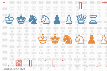 Chess Cases Font