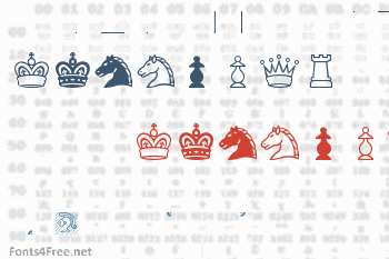 Chess Condal Font