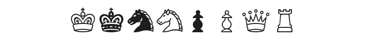 Chess Condal Font Preview