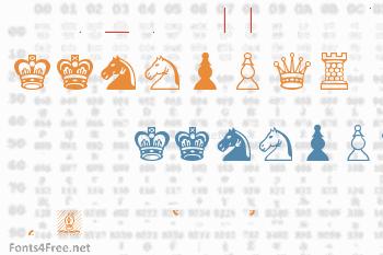 Chess Leipzig Font