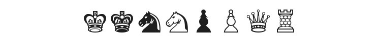 Chess Leipzig Font Preview