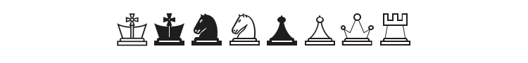 Chess Lucena Font Preview