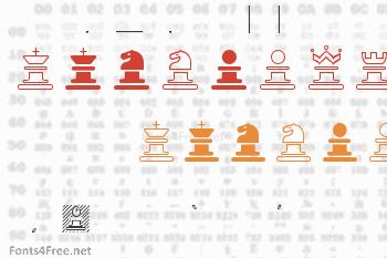 Chess Marroquin Font