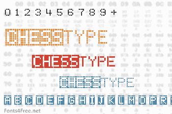 ChessType Font